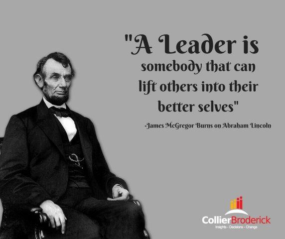 abraham lincolns leadership If abraham lincoln were alive today, he would fight just as hard to keep his blackberry as president barack obama did despite his popular image as a log-splitting bumpkin and small-time country.